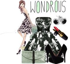 """""""Wondrous"""" by nora-nazeer ❤ liked on Polyvore"""