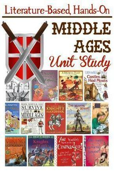 Our elementary medieval unit study was packed full of fun and learning. Books, resources and great project ideas included. Our elementary medieval unit study was packed full of fun and learning. Middle Ages History, Study History, Mystery Of History, Women's History, History Books, Funny History, History Quotes, History Timeline, History Facts