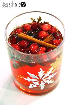 I'm sharing recipes for holiday drinks that are both delicious and healthy.