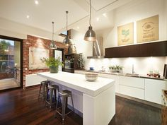 New York-inspired warehouse conversion in Melbourne