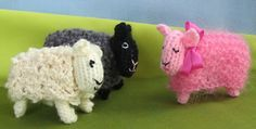 Free pattern for sheep and costumes.