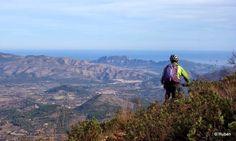 Ruta en btt a la Cumbre del Benicadell (Alicante)