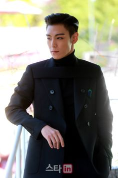 "Photos from T.O.P's Interviews for ""The Commitment"""