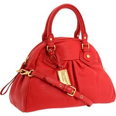 Marc by Marc Jacobs - Classic Q Baby Aidan (Dark Coral) - Bags and Luggage, $468.00 | www.findbuy.co #MarcbyMarcJacobs