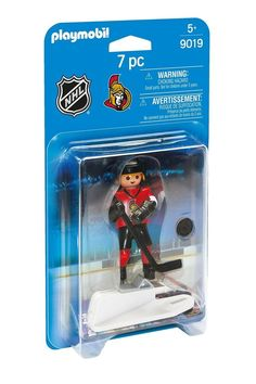 PLAYMOBIL NHL Ottawa Senators Player Playset Kids Boys Play Hockey Game Toy New #PLAYMOBIL #OttawaSenators