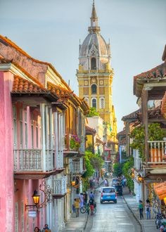 Brides: Mini Honeymoon Idea: 3 Days in Cartagena, Colombia Honeymoon - Honeymoon destinations - Hone Trip To Colombia, Colombia Travel, South America Destinations, South America Travel, Backpacking South America, Winter Sun Destinations, Honeymoon Getaways, Honeymoon Destinations, Honeymoon Cabin