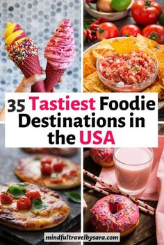This USA foodie guide highlights my top recommendations for the best Foodie destinations in the USA, best foodie adventures and culinary destinations in the USA, top restaurants in the US and typical American dishes. Click through to discover the best pla Travel Blog, Usa Travel Guide, Foodie Travel, Travel Usa, Travel Europe, Travel Tips, Canada Travel, Globe Travel, Shopping Travel
