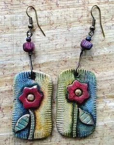 ☮ American Hippie Bohemian Boho Style ~ Jewelry .. Earrings