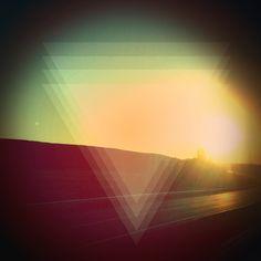 triangle/eye by Figen Yildiz, via Behance