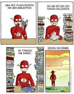 Flash sábio.