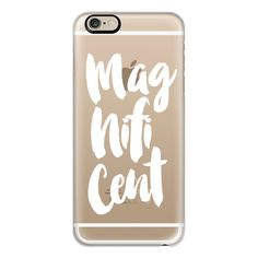 Magnificent white - iPhone 6s Case,iPhone 6 Case,iPhone 6s Plus... ($40) ❤ liked on Polyvore featuring accessories, tech accessories, fillers, phone, phone cases, iphone case, iphone cover case, iphone cases, clear iphone cases and slim iphone case