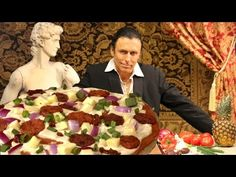 ▶ The Markus IncrediPizza - raw vegan gluten-free healthy pizza - YouTube