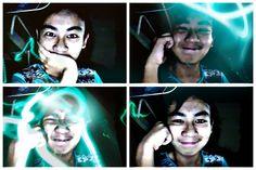 Blue crap. hahahah #lasers #azule