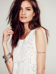 Free People White Light Tunic at Free People Clothing Boutique