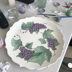 Ceramic Clay, Ceramic Painting, Traditional Tile, Decoupage, Tiles, Pottery, Tableware, Modern, Decor