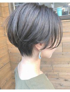 Asian Short Hair, Short Hair Styles Easy, Girl Short Hair, Short Hair Cuts, Short Hair Tomboy, Japanese Short Hair, Short Grunge Hair, Hair Streaks, Shot Hair Styles
