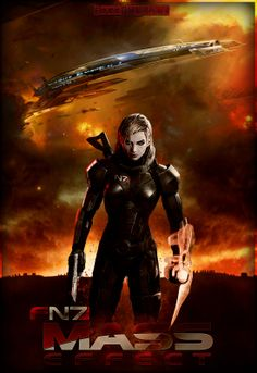 Mass Effect Female Shepard by FREEDUNHILL.deviantart.com ... That's my girl :)