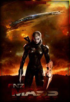 Mass Effect Female Shepard by FREEDUNHILL.deviantart.com