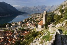 #Kotor is a mystical Venetian port wrapped around a pristine stretch of water. Arguably the most attractive Venetian town of the Adriatic and popular with sea faring tourists, the historic city is a medieval fantasy world complete with castle ruins.
