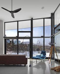 Modern mountain retreat in Colorado #dreamhouseoftheday