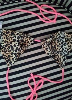 Kaufe meinen Artikel bei #Kleiderkreisel http://www.kleiderkreisel.de/damenmode/bikinis/99570266-victorias-secret-leo-bikinioberteil-xs