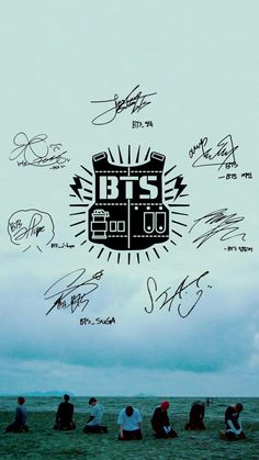 Army Wallpaper, Bts Wallpaper, Wallpaper Backgrounds, Wallpapers, Bts Suga, Bts Bangtan Boy, Bts Signatures, Bts Army Logo, Bts Tattoos