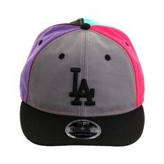 pretty nice a07b4 f80cc Los Angeles Dodgers New Era Stated Back Trucker 9TWENTY Adjustable Hat –  Royal   luv me sm hats   Dodger hats, Los Angeles Dodgers, Dodgers