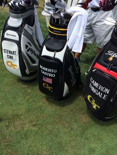 Good looking group of golf bags. (We ll take the one in the b835f6549c4d1