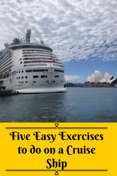 For those who love cruising but want to keep those cruise curves to a minimum… here are five easy exercises to do on board with no equipment or need to visit the gym.