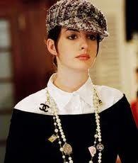 Another Newsboy cap in tweed, Anne Hathaway in The Devil Wears Prada