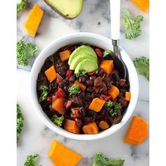 Black Bean Butternut Squash Chili  via @feedfeed on https://thefeedfeed.com/bakerbynature/black-bean-butternut-squash-chili