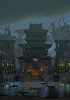 For Honor Concept Art by Maxime Desmettre - Magic, Fantasy & Sci-Fi - # . For Honor Concept Art by Maxime Desmettre – Magic, Fantasy & Sci-Fi – # Concept Art World, Fantasy Concept Art, Game Concept Art, Fantasy Artwork, Concept Art Landscape, Fantasy Art Landscapes, Fantasy Landscape, Landscape Lighting, Environment Concept