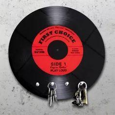 Schallplatte - Schlüsselbrett