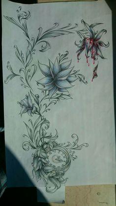 Tattoosketch for a friend