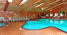 Shamrock Shaped Indoor Swimming Pool