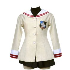 Clannad Cosplay Costume - Female Hikarizaka High School For 3rd Large * See this great product.
