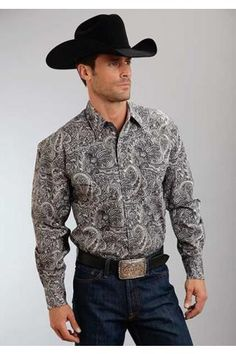 Neptune+Paisley+Stetson+Men's+Collection-+Spring+I+Long+Sleeve+Urban+