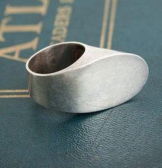 Pekka Piekäinen Modernist Silver Ring...