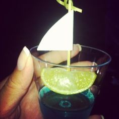 Sail boat jello shots and many more ideas for an adult nautical birthday