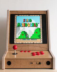 Borne d'arcade « Bartop Pi Arcade, Arcade Bartop, Arcade Table, Arcade Room, Arcade Stick, Arcade Games, Retro Video Games, Video Game Art, Diy Pedalboard