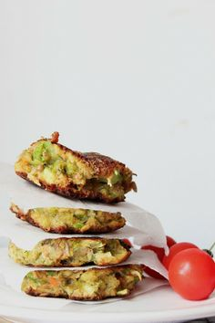 Strangely simple: Broccoli Fritters