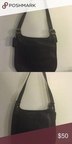 Vintage coach purse Black coach purse ,good condition Bags Shoulder Bags