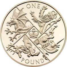 2016 one pound coin design included in 2016 coin sets