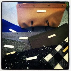 Carrie Dunham- clutch with interchangeable covers