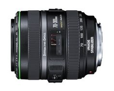 Canon EF 70-300mm f/4.5-5.6 DO IS USM Lens for Canon EOS Cameras by Canon. $1309.00. From the Manufacturer                Canon raises the stakes for professional photography with its EF 70-300mm f/4.5-5.6 DO IS USM telephoto lens with image stabilization. Thanks to a new triple-layered diffractive optical element (DO), this 70-300mm lens is less than 4 inches (10 cm) long. It can focus down to 4.6 feet (without rotating the front element) and a new zoom lock button...
