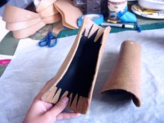 "The majority of people who use worbla for their cosplays appear to be using the ""sandwich"" method which involves covering a piece of craft foam with a piece of Worbla on each side. This…"