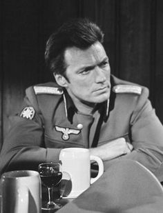 Clint Eastwood In Where Eagles Dare, 1968