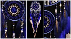 Blue Dream Catcher Large Dreamcatcher Gray Dream сatcher gift idea dreamcatcher boho dreamcatcher wall handmade gift silver Dreamcatchers SIZE Dream сatcher: - diameter - Сrescent - ring: ~ 14,17 (36cm ) 7,09 (18cm ) 4,92 (12,5cm ) - height: ~ 55,51 (141cm) MATERIAL Dream сatcher: mosaic, ceramic beads, crystal beads, metal beads, wood beads, wood-based, satin ribbon, gemstone lapis lazuli , gemstone Sodalite, feathers duck, Beads lampwork ***********************************...