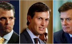 El hijo y el ex jefe de campaña de Trump comparecerán el miércoles en el Senado por la trama rusa