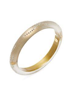 Crystal Dust Bangle Bracelet  from Alexis Bittar on Gilt